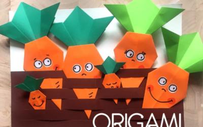 Marchew origami